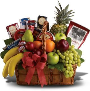Fruit and Gourmet Food Baskets