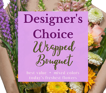Designer\'s Choice Hand Wrapped Bouquet