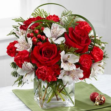 The Holiday Hopes Bouquet