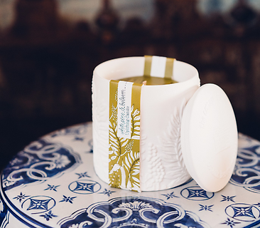 Uplifting | White Pine & Balsam Ceramic Candle
