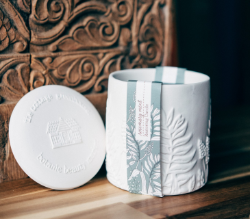 Restoring | Rosemary Mint Ceramic Candle