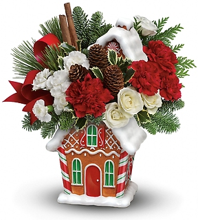 Gingerbread Cookie Jar Bouquet