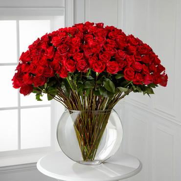 Breathless Luxury Rose Bouquet 24-inch Premium Long-Stemmed Rose